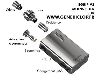 egrip 2 demonté