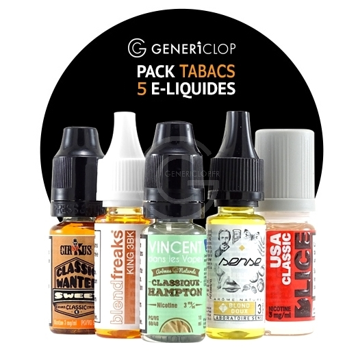 TOP 5 TABACS 10ml PACK