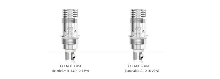 kit cosmo vaptio cigarette électronique resistance