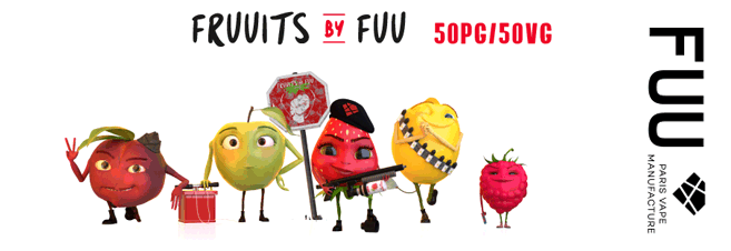 e-liquide fruuits the fuu