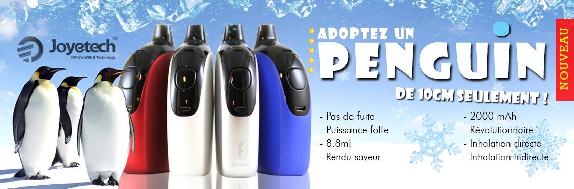 Cigarette électronique pinguin par joyetech